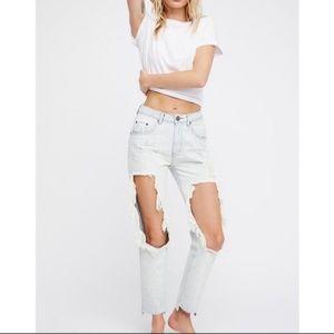 NWT One Teaspoon Baggie High Waist Diamond Jeans